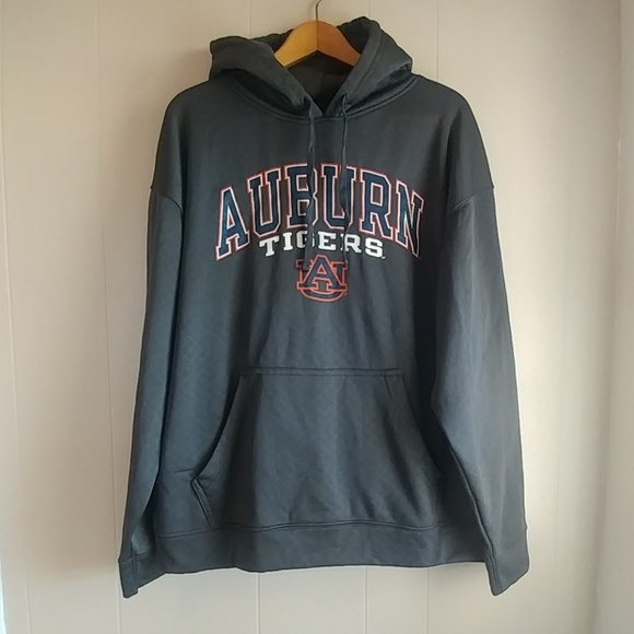 Russell Athletic Other - Russell Auburn Tigers Gray Kangaroo Pocket Hoodie